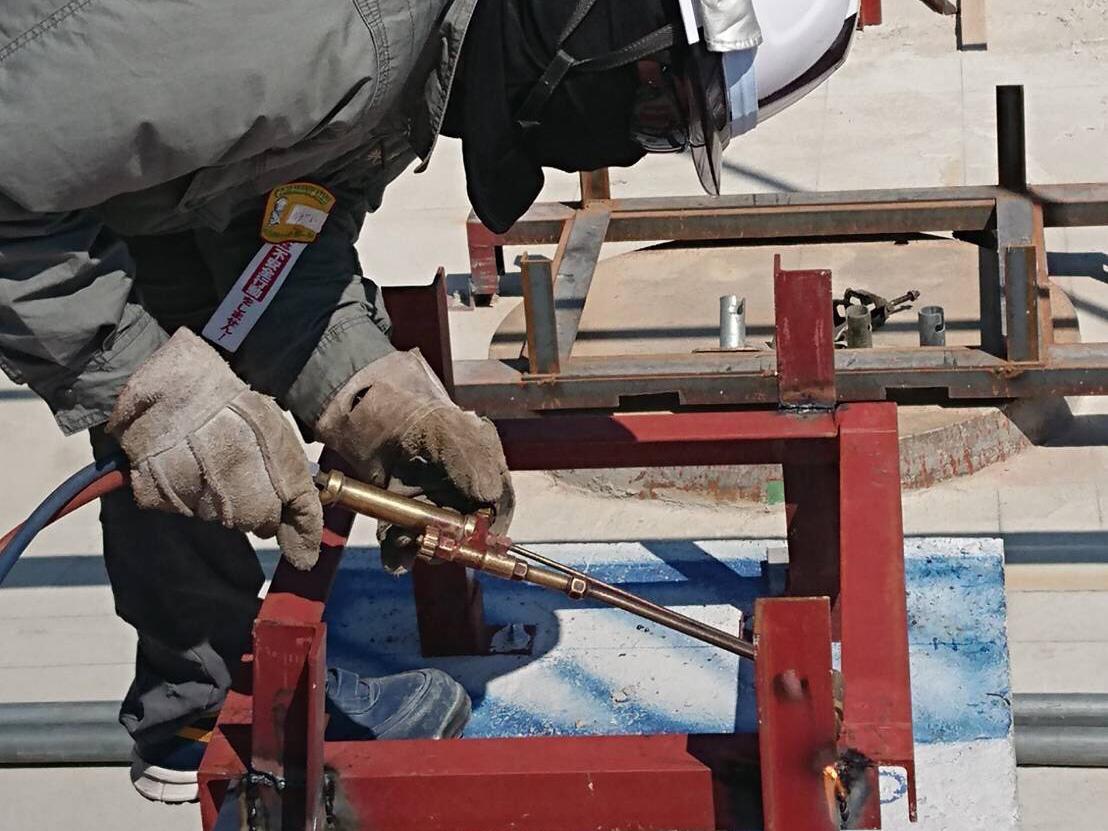 鍛冶工事は長井工業